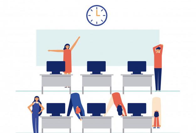 Pausas activas en el trabajo by Ulises Toro