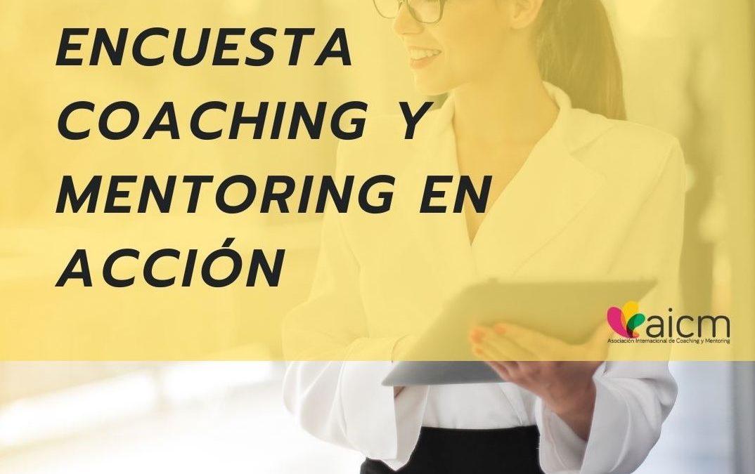 Encuesta Coaching y Mentoring en acción con AICM