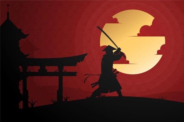 Samurai by María Mizuno